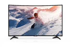 "TV HAIER 4K CURVED LED 55"" INCURVÉ"