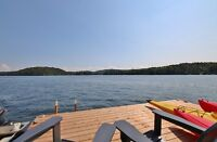 Cottages for Rent on Beautiful McGregor Lake