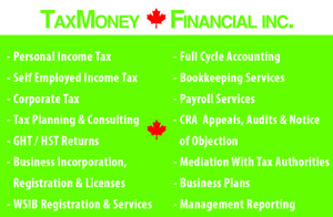 TAX &ACCOUNTING & PAYROLL & BUSINESS REGIS & INCORPORATION