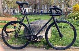Custom make single speed fixed gear road bike hybrid bicycle only 210