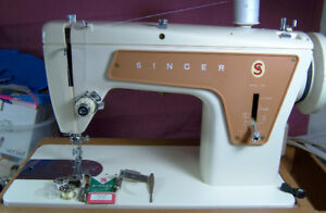 SINGER 239 ALL METAL HEAVY DUTY SEWING MACHINE STRAIGHT STITCH