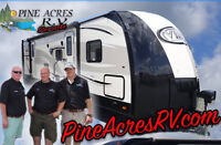 Pine Acres RV in Stewiackes Year End Clearance Show NOW ON!
