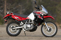 parting out a KLR 650 2008