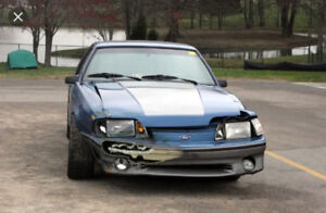 WANTED 1986-1993 Mustang original V8 5 Speed car
