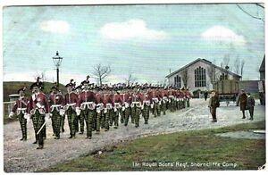 1906-1st-ROYAL-LONDON-SCOTTISH-Regiment-Shorncliffe-Camp-Military-Postcard