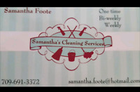 Samantha's Cleaning Services
