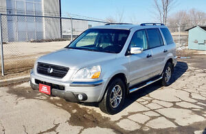 2005 Honda Pilot EX-L leather,sunroof,8 passenger new safety