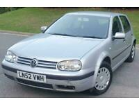 2002 Volkswagen Golf 1.6 S 5dr Automatic *** HPI CLEAR - DELIVERY AVAILABLE ***