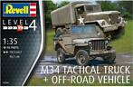 Revell | 03260 | M34 Tactical truck + Off-road Vehicle | 1:3