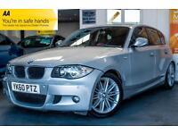 2010 BMW 1 SERIES 2.0 120D M SPORT 5DR PARKING SENSORS! FINANCE ME! HATCHBACK DI