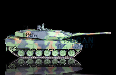 US Stock Fast HengLong 1/16 Upgraded Metal German Leopard2A6 RC RTR Tank 3889