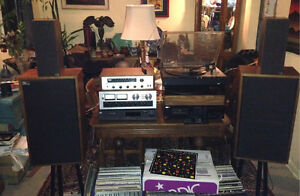 Vintage Vinyl Stereo Systems and Records