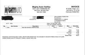 2004 Subaru Forester AS IS NO MVI