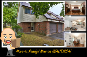 Rare End Unit Townhouse in Barrie!