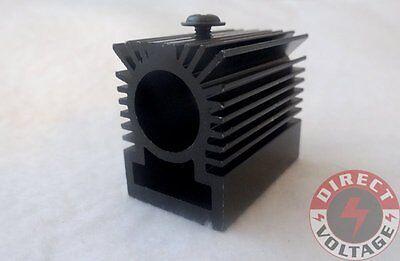 2pcs Cooling Heatsink Heat Sink For 12mm Laser Diode Module - Black