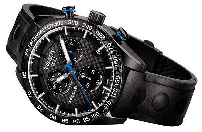 Sale New  Tissot Prs 516 Quartz Chronograph Mens Leather Watch T1004173720100