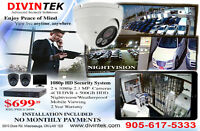 HIGH DEFINITION SECURITY CAMERA SYSTEM INSTALLATION INLUDED