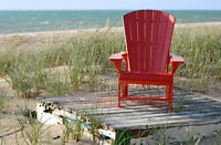 NEW Generation Line Upright Adirondack / Muskoka Chair C03