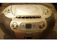 Proline cd cassette and radio player