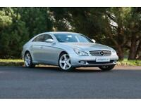 2007 MERCEDES-BENZ CLS320 3.0 CDI DIESEL (SAT NAV | LEATHER | FSH)