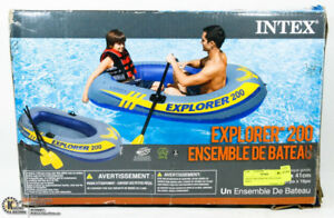 2, 3 and 4 PERSON INFLATABLE BOATS