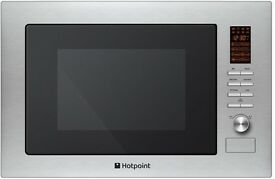 Hotpoint MWH222.1X Built-in Microwave With Grill - Stainless Steel
