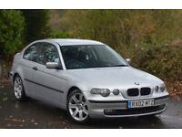 BMW 316 1.8 auto 2002MY ti SE Compact Silver