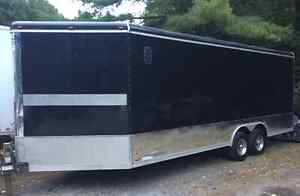 2012 Cargo Max 8.5x22' Enclosed V-Nose Trailer