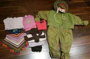 11pc Girl's Size 6-12 months Lot
