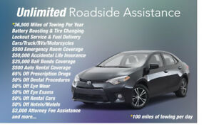 Roadside Assistance and other Benefits.