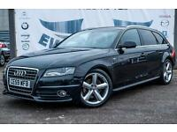 2009 AUDI A4 2.0 AVANT TDI S LINE SPECIAL EDITION PRIVACY GLASS DAYTIME RUNNING