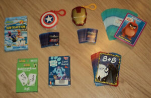 Mini games and flash cards