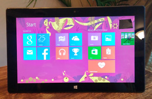 Microsoft Surface. TOUCH SCREEN