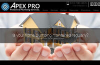 APEX PRO PLUMBING/ PLUMBER - Protective Plumbing Plans available