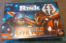 Risk Board Game Marvels Captain America Civil War