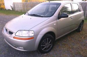 Pontiac Wave 2005 / Automatique / Pneus Hiver