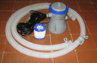 FILTRE PISCINE BOUDIN / FILTER TUBE POOL 8 -12 PI ( PRIX FERME )