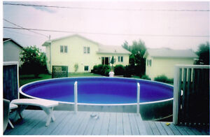 Round Eternity Swimming Pool with Accessories