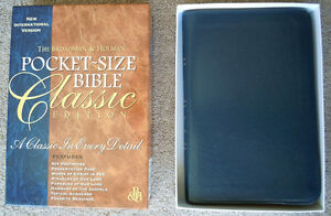 Almost New, NIV Pocket-Size Bible, Leather