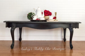 Elegant French Provincial Coffee Table