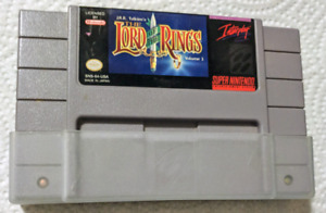 LORD OF THE RINGS for Super Nintendo!