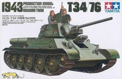 Tamiya 35059 - Russischer Kampfpanzer T34/76 - Modell 1943 - 1:35