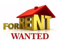 Wanted 3/4 bedroom house