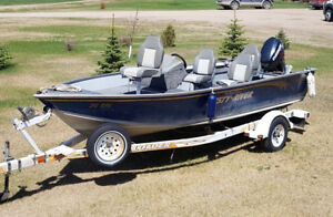 2004 Misty River Eclipse 17' Fishing/Skiing Boat