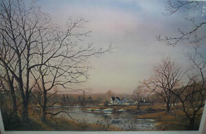 "Peter Robson ""Prelude To Spring"" Signed and Numbered Print Stratford Kitchener Area image 2"