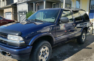 2003 Chevrolet Blazer SUV, Crossover,  AS IS