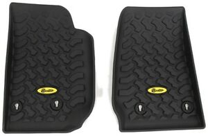 Bestop Floor Liners Front For 2014+ Jeep Wrangler JK