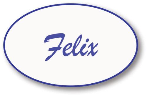 FIX IT FELIX WRECK IT RALPH NAME BADGE PROP HALLOWEEN COSTUME SAFETY PIN BACK