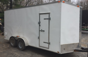2016 Synergy 7x16' Enclosed Trailer