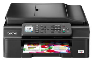 BROTHER mfc-j475 ink jet all-in-one PRINT COPY SCAN FAX - $110